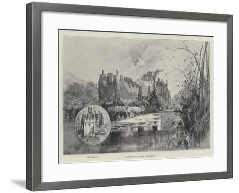 Compton Wynyates, the Moat-Herbert Railton-Framed Art Print