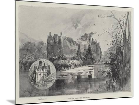 Compton Wynyates, the Moat-Herbert Railton-Mounted Giclee Print