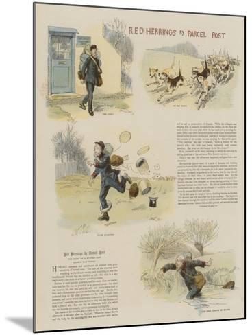 Red Herrings by Parcel Post-Hugh Thomson-Mounted Giclee Print