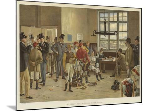 The Derby, the Weighing Room, Epsom-Isaac J. Cullin-Mounted Giclee Print