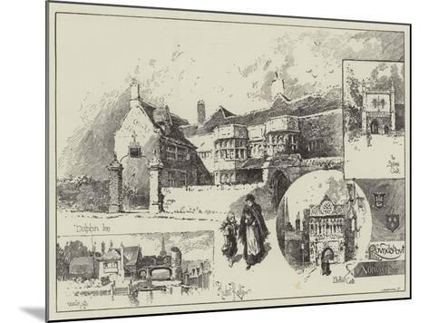 Round About Norwich-Herbert Railton-Mounted Giclee Print