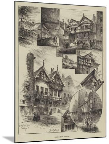 Round About Chester-Herbert Railton-Mounted Giclee Print