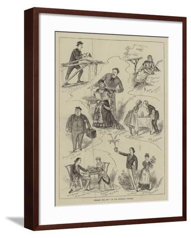 Where's the Cat? at the Criterion Theatre-Horace Morehen-Framed Art Print