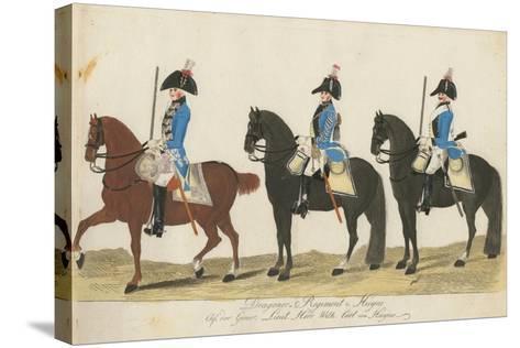 Carl Von Huyne's Dragoner Regiment, Hesse-Cassel, C.1784-J. H. Carl-Stretched Canvas Print