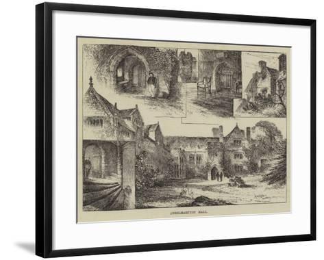 Athelhampton Hall-Herbert Railton-Framed Art Print