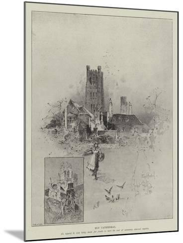 Ely Cathedral-Herbert Railton-Mounted Giclee Print