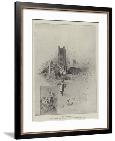 Ely Cathedral-Herbert Railton-Framed Art Print