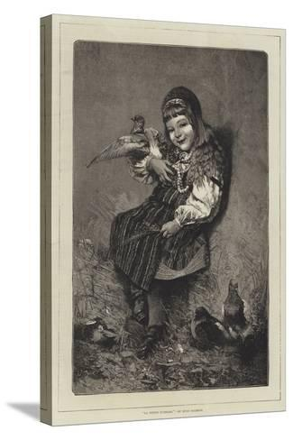La Petite Suedoise-Hugo Salmson-Stretched Canvas Print