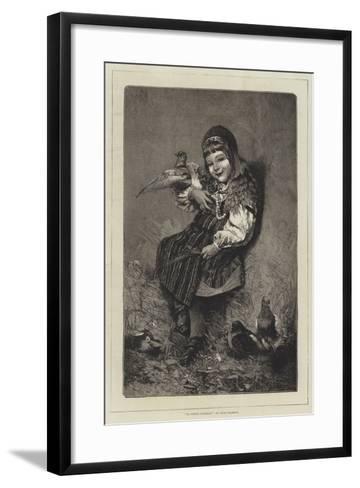 La Petite Suedoise-Hugo Salmson-Framed Art Print
