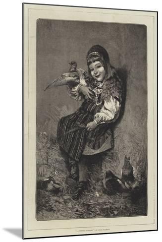 La Petite Suedoise-Hugo Salmson-Mounted Giclee Print