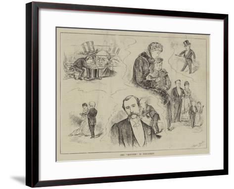 The Midgets in Piccadilly-Horace Morehen-Framed Art Print