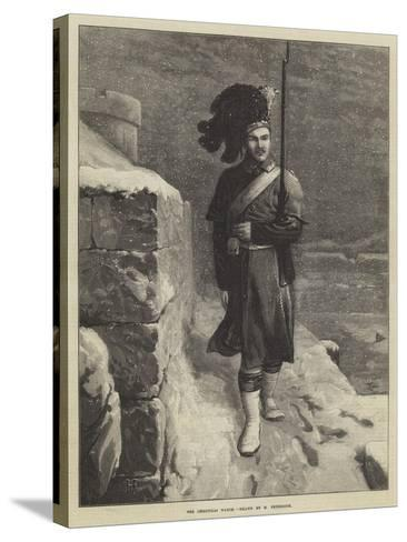 The Christmas Watch-Horace Petherick-Stretched Canvas Print
