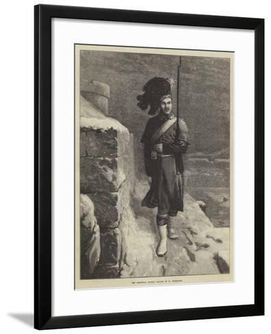 The Christmas Watch-Horace Petherick-Framed Art Print