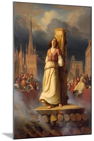 Joan of Arc's Death at the Stake, 1843-Hermann Anton Stilke-Mounted Giclee Print