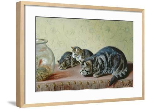 The Fishing Party-Horatio Henry Couldery-Framed Art Print