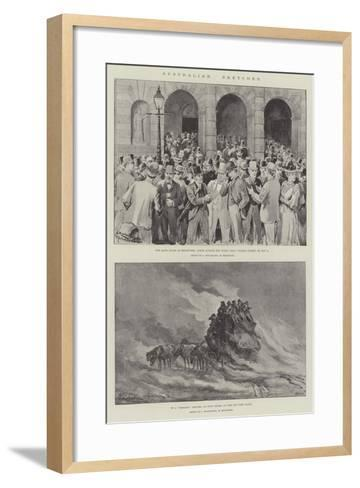 Australian Sketches-J. Macfarlane-Framed Art Print