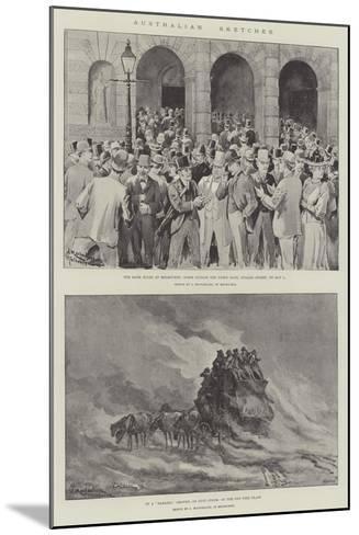 Australian Sketches-J. Macfarlane-Mounted Giclee Print