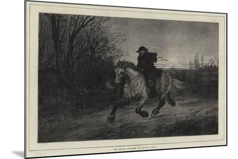 The Belated Traveller-Heywood Hardy-Mounted Giclee Print