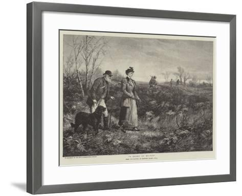 A Diana of To-Day-Heywood Hardy-Framed Art Print
