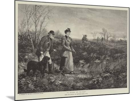 A Diana of To-Day-Heywood Hardy-Mounted Giclee Print