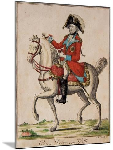 Georg Prinz Von Wallis, George, Prince of Wales-I. P. Therlotte-Mounted Giclee Print