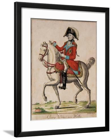 Georg Prinz Von Wallis, George, Prince of Wales-I. P. Therlotte-Framed Art Print