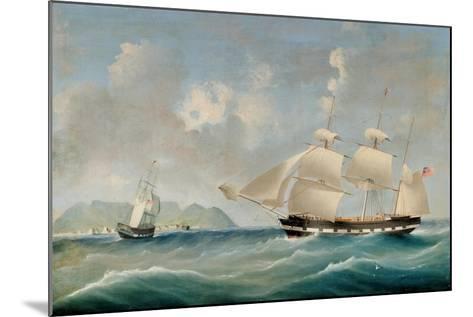 Seascape, 1850-I. Tudgay-Mounted Giclee Print