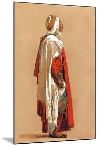 Study of a Man in Oriental Costume-Isidore Pils-Mounted Giclee Print