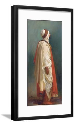 Study of an Arab Standing-Isidore Pils-Framed Art Print