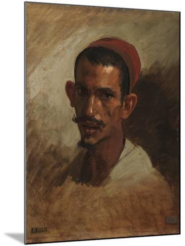 Study for the Head of a Young Arab, C.1860-62-Isidore Pils-Mounted Giclee Print