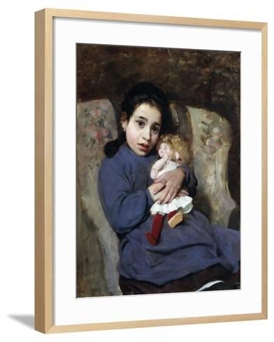 The Doll, 1891-Isidoro Grunhut-Framed Art Print