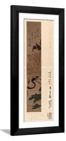 Yatsushi [Shi or Hi?]Chobo-Isoda Koryusai-Framed Art Print