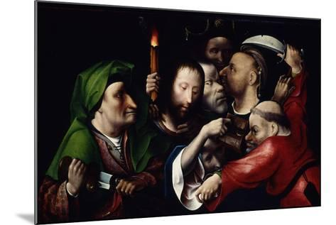 The Arrest of Christ, C.1515-Hieronymus Bosch-Mounted Giclee Print