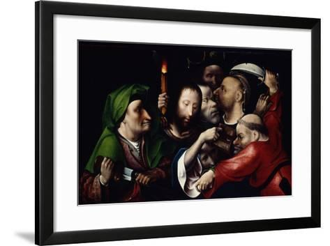 The Arrest of Christ, C.1515-Hieronymus Bosch-Framed Art Print