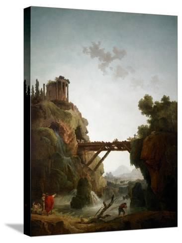 Fantastic View of Tivoli, 1789-Hubert Robert-Stretched Canvas Print