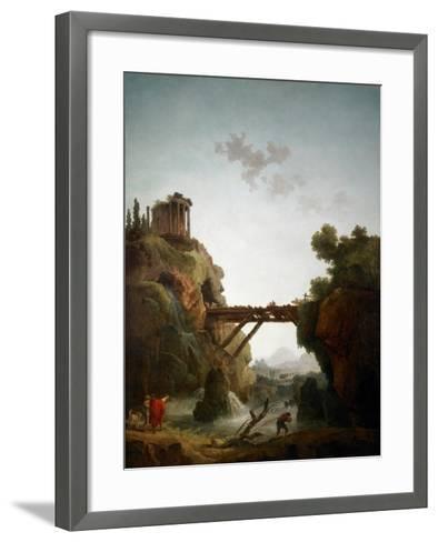 Fantastic View of Tivoli, 1789-Hubert Robert-Framed Art Print