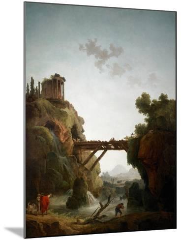 Fantastic View of Tivoli, 1789-Hubert Robert-Mounted Giclee Print