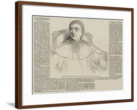 Obituary of Eminent Persons Recently Deceased-Hippolyte Delaroche-Framed Art Print