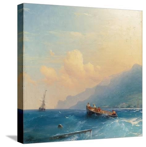 Searching for Survivors, 1863-Ivan Konstantinovich Aivazovsky-Stretched Canvas Print