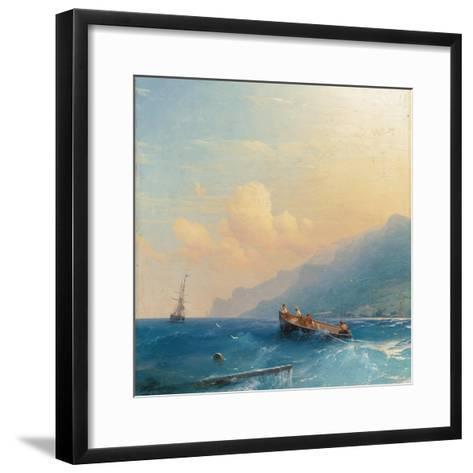 Searching for Survivors, 1863-Ivan Konstantinovich Aivazovsky-Framed Art Print