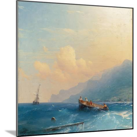 Searching for Survivors, 1863-Ivan Konstantinovich Aivazovsky-Mounted Giclee Print