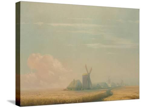 Ukrainian Harvest, 1857-Ivan Konstantinovich Aivazovsky-Stretched Canvas Print