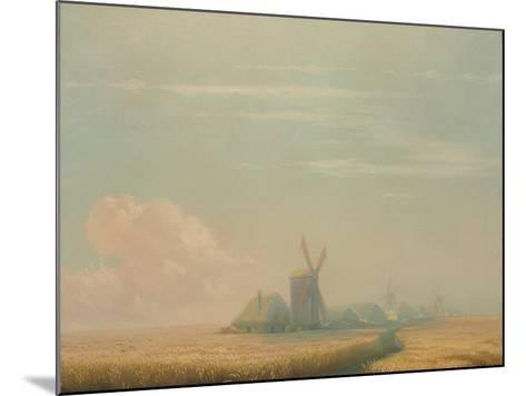 Ukrainian Harvest, 1857-Ivan Konstantinovich Aivazovsky-Mounted Giclee Print
