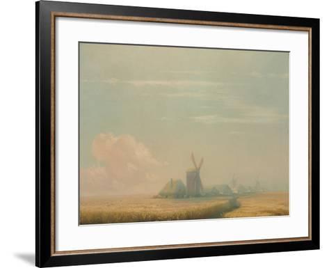 Ukrainian Harvest, 1857-Ivan Konstantinovich Aivazovsky-Framed Art Print