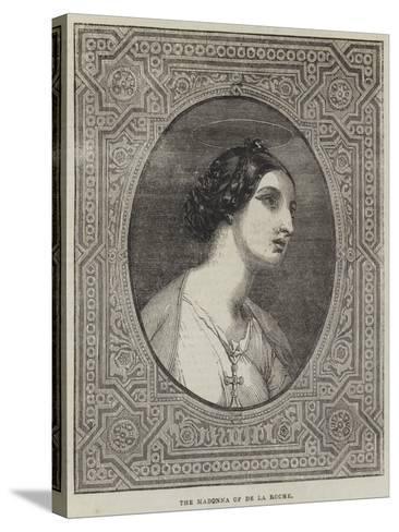 The Madonna-Hippolyte Delaroche-Stretched Canvas Print