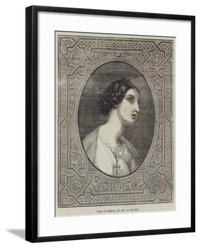 The Madonna-Hippolyte Delaroche-Framed Art Print