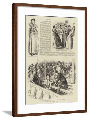 Pittites at the Play-Hugh Thomson-Framed Art Print