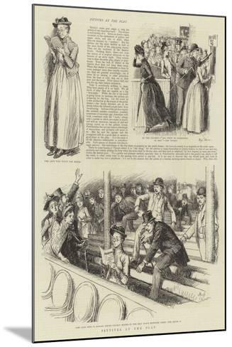 Pittites at the Play-Hugh Thomson-Mounted Giclee Print