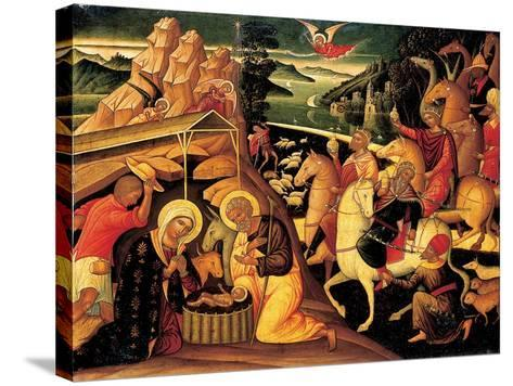 The Adoration of the Magi, 1500-25-Ioannis Permeniates-Stretched Canvas Print