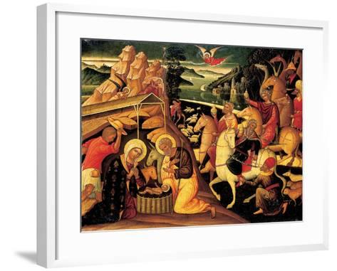 The Adoration of the Magi, 1500-25-Ioannis Permeniates-Framed Art Print